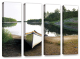 Silent Retreat 1, 4 Piece Gallery-Wrapped Canvas Set Gallery Wrapped Canvas Set by Ken Kirsh
