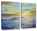 Florida Sunrise, 2 Piece Gallery-Wrapped Canvas Set Gallery Wrapped Canvas Set by Michael Creese