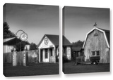 Relics Of The Past, 2 Piece Gallery-Wrapped Canvas Set Poster by Steve Ainsworth