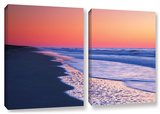 Lavender Sea I, 2 Piece Gallery-Wrapped Canvas Set Prints by Steve Ainsworth