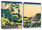The Fuji Seen From The Mishima Pass, 2 Piece Gallery-Wrapped Canvas Set Prints by Katsushika Hokusai