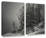 10,000 Feet Of Silence, 2 Piece Gallery-Wrapped Canvas Set Posters by Mark Ross