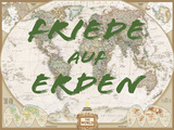 Friede auf Erden Print by  National Geographic Maps