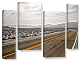 Slow Curves, 4 Piece Gallery-Wrapped Canvas Staggered Set Prints by Mark Ross