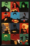 Justice League - Minimalist Posters