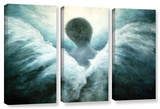 Ascending Angel, 3 Piece Gallery-Wrapped Canvas Set Gallery Wrapped Canvas Set by Marina Petro