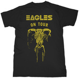 Eagles- On Tour Skull Maglietta