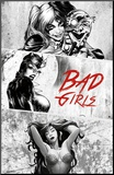 Dc Comics - Bad Girls Mounted Print