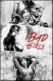 Dc Comics - Bad Girls Lámina montada en tabla