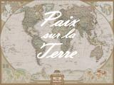 Paix sur la Terre Prints