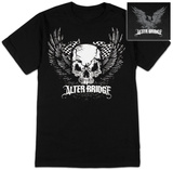 Alter Bridge- Skull With Wings (Front/Back) Camisetas