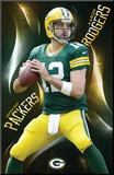 Green Bay Packers- Aaron Rodgers 2015 Mounted Print
