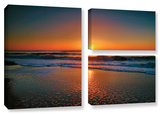 Morning Has Broken Ii, 3 Piece Gallery-Wrapped Canvas Flag Set Gallery Wrapped Canvas Set by Steve Ainsworth