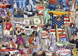 Best Of The USA 1000 Piece Puzzle Jigsaw Puzzle