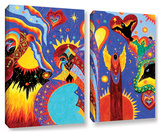 Angel Fire, 2 Piece Gallery-Wrapped Canvas Set Prints by Marina Petro