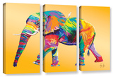 The Ride, 3 Piece Gallery-Wrapped Canvas Set Posters by Linzi Lynn