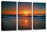 Morning Has Broken Ii, 3 Piece Gallery-Wrapped Canvas Set Gallery Wrapped Canvas Set by Steve Ainsworth