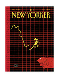 The New Yorker Cover - September 7, 2015 Regular Giclee Print by Joost Swarte