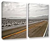 Slow Curves, 2 Piece Gallery-Wrapped Canvas Set Prints by Mark Ross