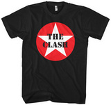 The Clash- Star Logo Maglietta