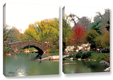 Saturday Central Park, 2 Piece Gallery-Wrapped Canvas Set Gallery Wrapped Canvas Set by Linda Parker