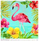 Key West Fantasy II Prints by Martha Collins