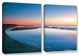 Sea And Surf, 2 Piece Gallery-Wrapped Canvas Set Gallery Wrapped Canvas Set by Steve Ainsworth