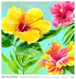 Key West Fantasy I Poster by Martha Collins