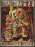 Minecraft - Zombie Pigman Mounted Print
