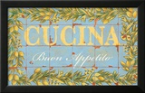 Mediterranean Cucina Prints by Michael Letzig