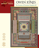 Owen Jones: The Grammar Of Ornament: Pompeian No. 3 500 Piece Puzzle Jigsaw Puzzle