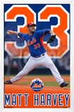 New York Mets - M Harvey 15 Posters