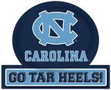 UNC Tar Heels Jumbo Tailgate Peel & Stick Wall Decal