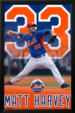 New York Mets - M Harvey 15 Photo