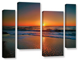 Morning Has Broken Ii, 4 Piece Gallery-Wrapped Canvas Staggered Set Print by Steve Ainsworth