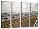 Slow Curves, 4 Piece Gallery-Wrapped Canvas Set Prints by Mark Ross