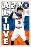 Houston Astros - J Altuve 15 Photo