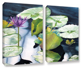 From Deep, 2 Piece Gallery-Wrapped Canvas Set Gallery Wrapped Canvas Set by Marina Petro