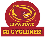 Iowa State Cyclones Jumbo Tailgate Peel & Stick Wall Decal