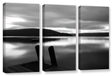 Still Waters, 3 Piece Gallery-Wrapped Canvas Set Gallery Wrapped Canvas Set by Steve Ainsworth