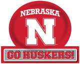 Nebraska Cornhuskers Jumbo Tailgate Peel & Stick Wall Decal