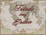 Friede auf Erden Prints by  National Geographic Maps
