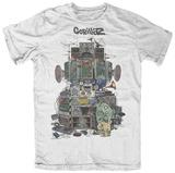 Gorillaz- Multi Boomboxes T-skjorter