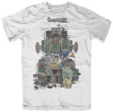 Gorillaz- Multi Boomboxes T-Shirts