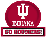 Indiana Hoosiers Jumbo Tailgate Peel & Stick Wall Decal