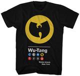 Wu Tang Clan- Circles 1992 Logo T-skjorter