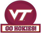 Virginia Tech Hokies Jumbo Tailgate Peel & Stick Wall Decal