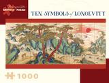 Ten Symbols Of Longevity 1000 Piece Puzzle Quebra-cabeça