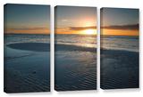 Sanibel Sunrise Ii, 3 Piece Gallery-Wrapped Canvas Set Gallery Wrapped Canvas Set by Steve Ainsworth