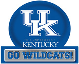 Kentucky Wildcats Jumbo Tailgate Peel & Stick Wall Decal